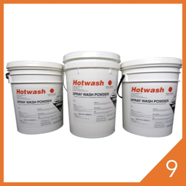 Hotwash Cleaning Chemicals